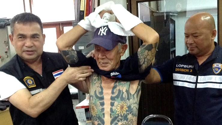 Szukali go 15 lat. Wpadł przez... tatuaże. 74-letni boss yakuzy w rękach policji