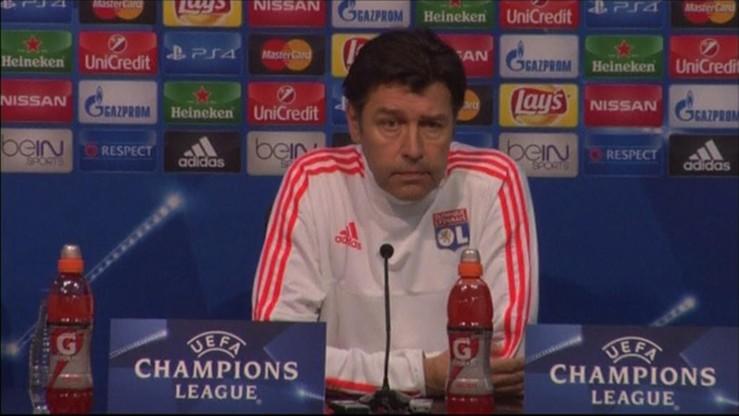 Trener Olympique Lyon tuż przed świętami... stracił pracę