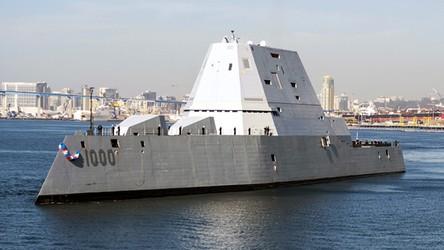 Futurystyczny niszczyciel armii USA otrzyma broń hipersoniczną i laserową