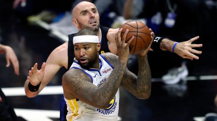 NBA: Czarna seria Clippers trwa. Przeciętny występ Gortata