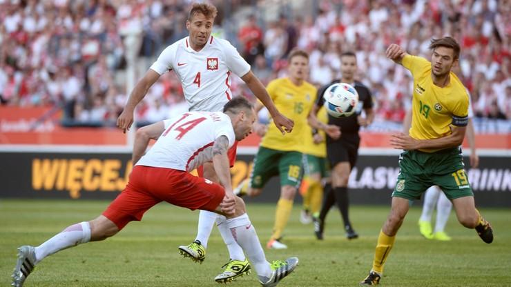 Nieudany ostatni sprawdzian przed Euro 2016. Polska remisuje z Litwą
