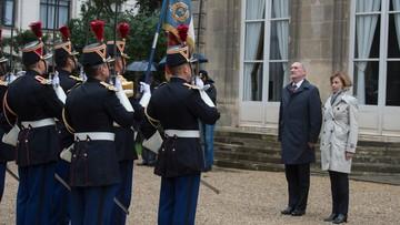 Szef MON rozmawiał z minister ds. sił zbrojnych Francji o okrętach podwodnych dla Polski