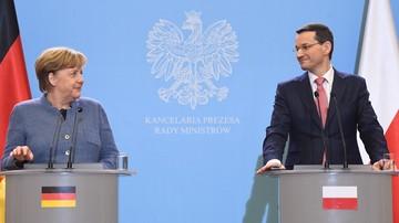 Merkel: Polska daje swój wkład w przyjmowanie uchodźców w Unii Europejskiej