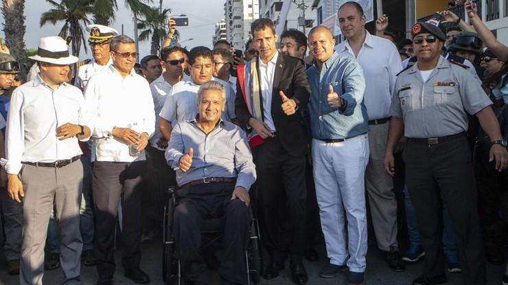 Guaido zapowiada powrót do Wenezueli i wzywa do kolejnych protestów