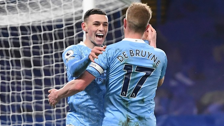 Chelsea rozbita w pierwszej połowie. Pewna wygrana Manchesteru City w Londynie