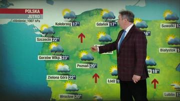 Prognoza pogody - sobota, 8 maja - popołudnie