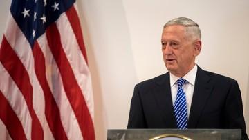 Szef Pentagonu: ostrzeżenie ws. ataku chemicznego mogło powstrzymać Syrię