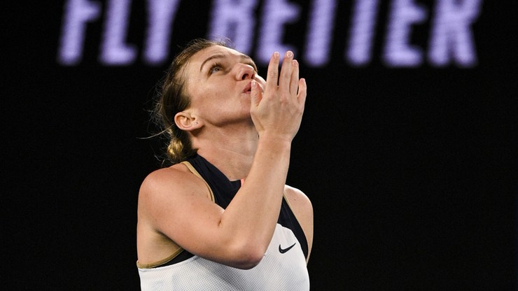Australian Open: Simona Halep czeka na Igę Świątek w 1/8 finału