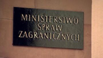 """Szef MSZ: Polska zaprotestuje przeciwko narzucaniu """"masowych przesiedleń"""""""