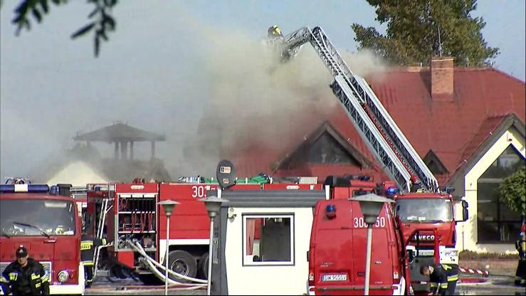 Pożar w fabryce zapalniczek pod Wrocławiem. Ranne dwie osoby