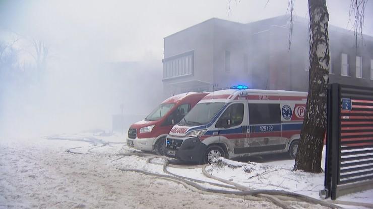 Pożar, który wybuchł w sobotę w archiwum Urzędu Miasta Krakowa został opanowany