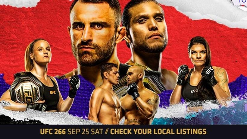 UFC 266: Alexander Volkanovski - Brian Ortega. Transmisja TV i stream online