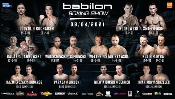 Babilon Boxing Show: Karta walk