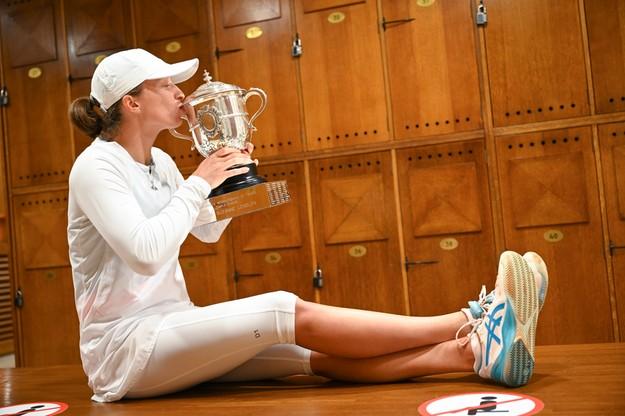 Sesja zdjęciowa po zwycięstwie w French Open/ PAPEPA/Corinne Dubreuil