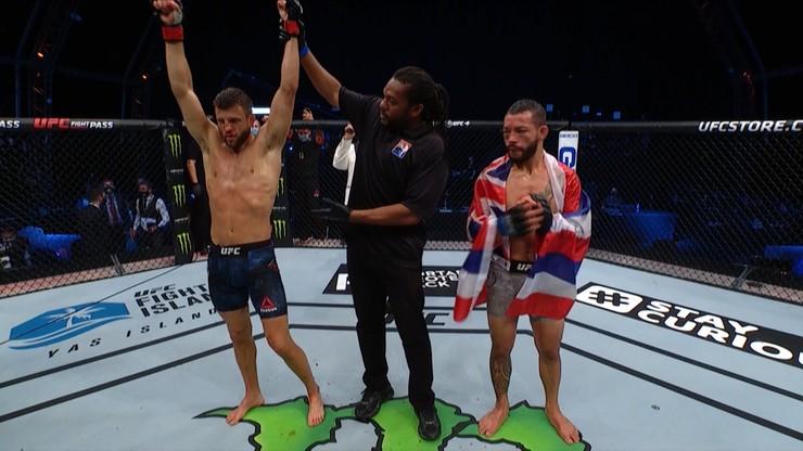 UFC Fight Night: Pewne zwycięstwo Kattara w walce wieczoru