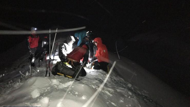 Ratownicy bezpiecznie sprowadzili turystów, którzy zabłądzili w górach