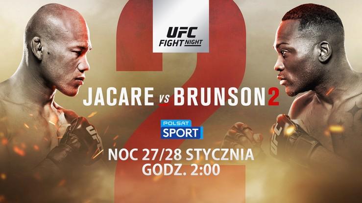UFC Fight Night: Jacare - Brunson 2 w Polsacie Sport