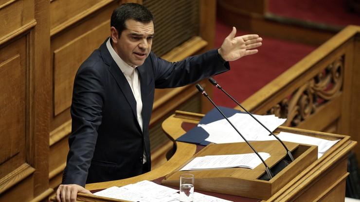 Grecki parlament poparł umowę z Macedonią o zmianie nazwy kraju