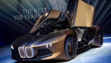 Kosmiczne technologie, kosmiczny wygląd. Wizja samochodu przyszłości wg BMW