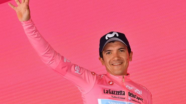 Giro d'Italia: Chaves wygrał 19. etap, Carapaz wciąż liderem