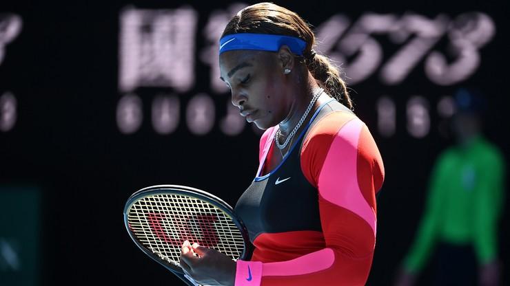 Australian Open: Zapłakana Williams przerwała konferencję prasową (WIDEO)
