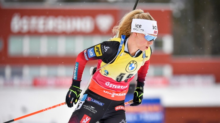PŚ w biathlonie: Wygrana Tiril Eckhoff w ostatnim sprincie w sezonie