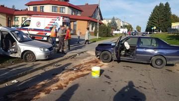Po zderzeniu auto wjechało na chodnik. Uderzyło w 12-latkę