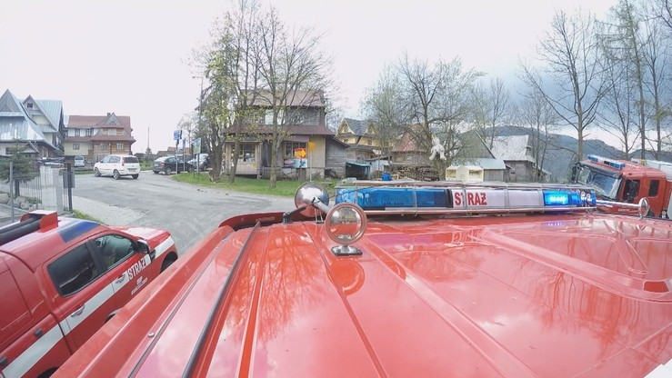 Pijany mężczyzna ukradł strażacki wóz. Na skrzyżowaniu spowodował kolizję