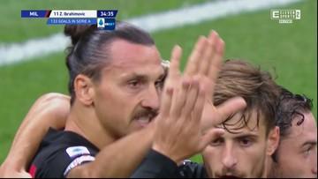 Serie A: Świetna inauguracja Milanu. Ibrahimović dwukrotnie pokonał Skorupskiego [ELEVEN SPORTS]