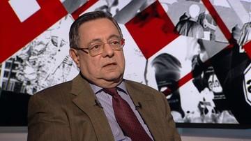 Prof. Szlajfer: Morawiecki wypowiada się na tematy, o których nie ma pojęcia