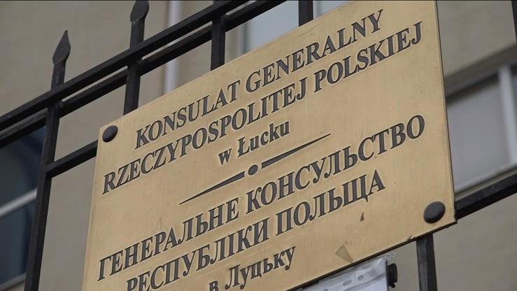 Ukraina: w parlamencie pojawił się projekt uchwały ws. ostrzelania konsulatu RP