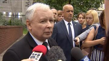 """Kaczyński za Brexit wini Tuska. """"Powinien zniknąć z polityki"""""""
