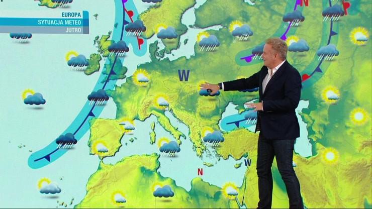 Prognoza pogody - sobota, 23 października - popołudnie