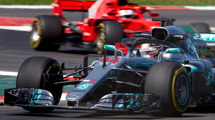 GP Hiszpanii: Drugi trening dla Hamiltona, kierowcy Williamsa na końcu stawki
