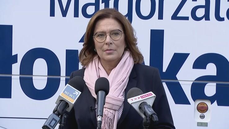 Kidawa-Błońska: prezes Kaczyński znowu dzieli ludzi