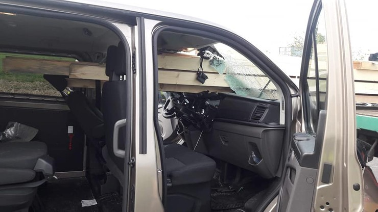 Wstępnie ustalono, że to kierowca forda nie zachował należytej odległości od poprzedzającego pojazdu