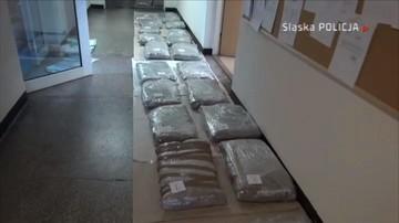 Śląsk: policja przejęła 130 kg marihuany wartej blisko 4 mln złotych