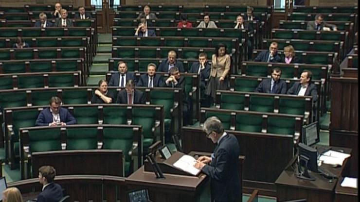 Pierwsze czytanie ustawy o TK w Sejmie. Burzliwa dyskusja nad projektem PiS