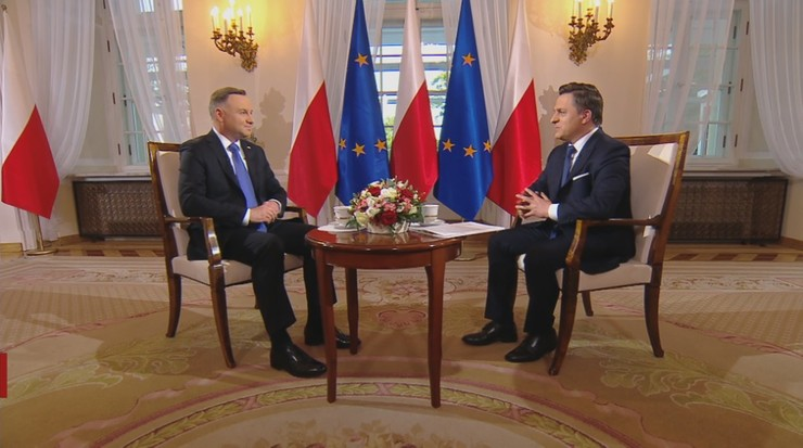Prezydent: proponowałbym, żeby pan Trzaskowski nie histeryzował