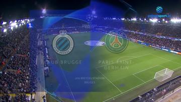 Club Brugge - Paris Saint-Germain 1:1. Skrót meczu