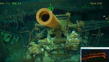 Odnaleziono wrak legendarnego lotniskowca USS Lexington. Jednostkę zatopiła flota japońska w 1942 r.