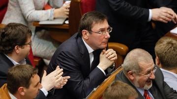 Ukraina ma nowego prokuratora generalnego. Został nim Jurij Łucenko