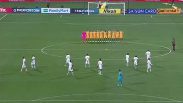 """""""Okazujcie szacunek albo nie przyjeżdżajcie"""". Piłkarze Arabii Saudyjskiej odmówili uczestniczenia w minucie ciszy"""