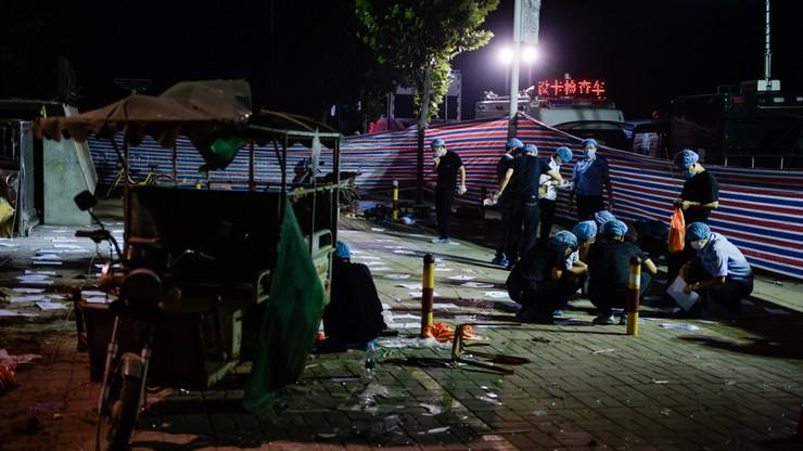 Wybuch w Chinach spowodowała eksplozja bomby. Skonstruował ją chory psychicznie 22-latek