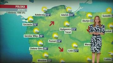 Prognoza pogody - niedziela, 13 czerwca - popołudnie
