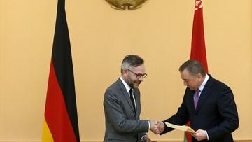 Niemiecki minister apeluje o uwolnienie działaczy opozycji na Białorusi