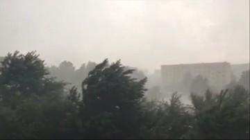 Po gwałtownych burzach setki interwencji straży w całym kraju