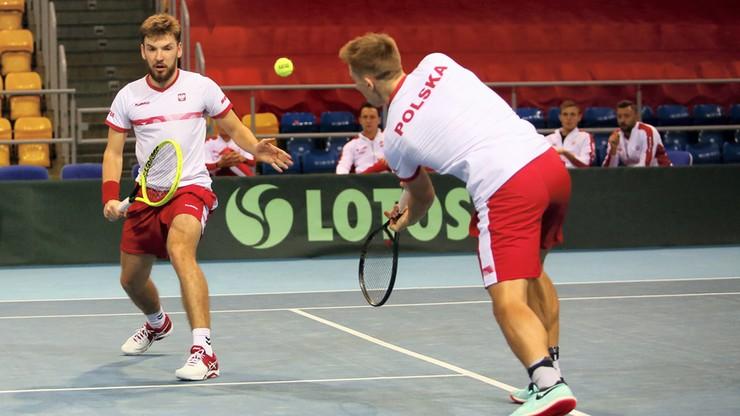 Puchar Davisa: Polacy zwyciężyli w deblu i awansowali do Grupy II