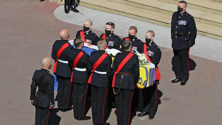 Ogromna oglądalność pogrzebu księcia Filipa. Wyższa niż ślubu Harry'ego i Meghan