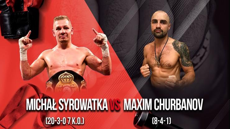 Syrowatka - Churbanov w walce wieczoru Chorten Boxing Show III